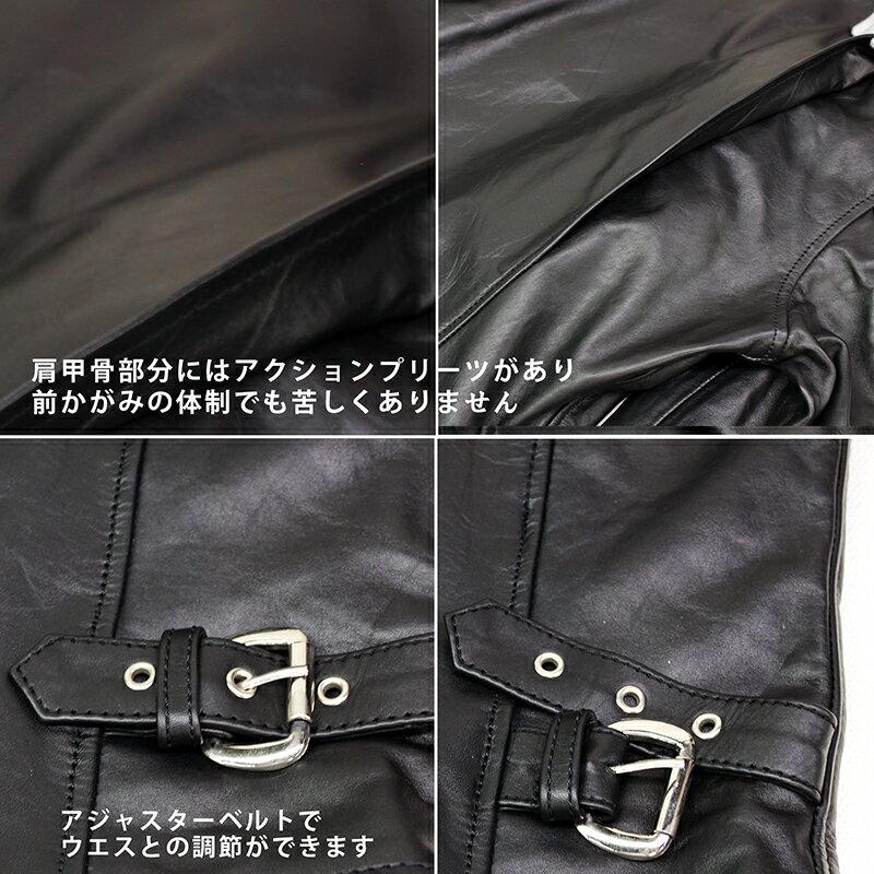 牛革 メンズ トラッカージャケット